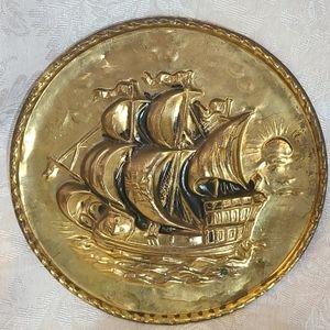 VTG Brass Nautical Wall Decor